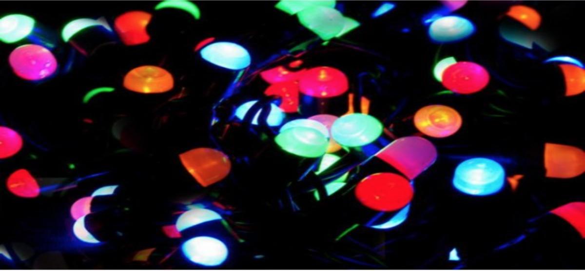 výběr vánočního osvětlení