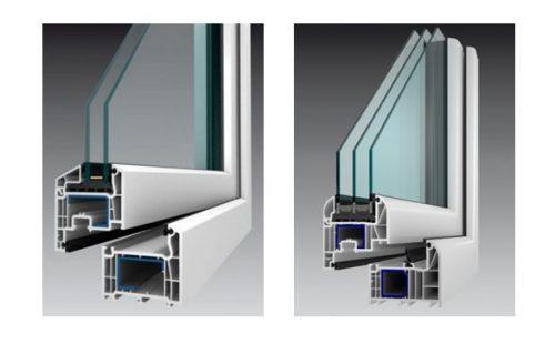 Kvalitní okenní profily mají alespoň 5 komor, zdroj: oknoplastik.cz