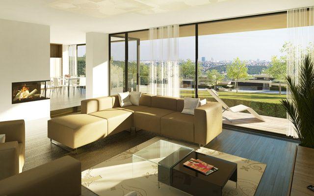 luxusní vily na prodej