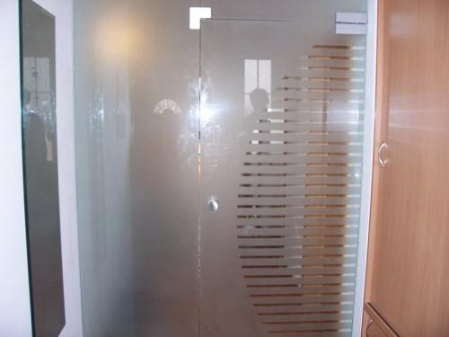 Kalené sklo může být i poloprůhledné či s ornamenty, zdroj: flotis.cz