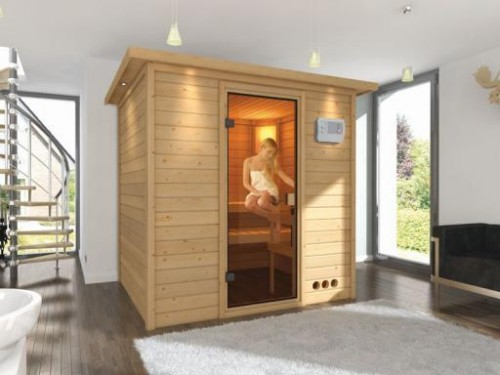 Finská sauna Karibu Anja 34 990 Kč, zdroj: marimex.cz