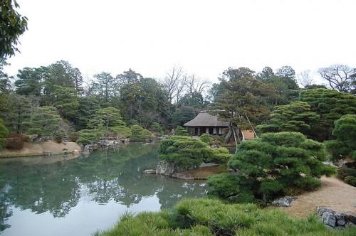 Japonská zahrada u nás není příliš častá, zdroj: wikipedia.org