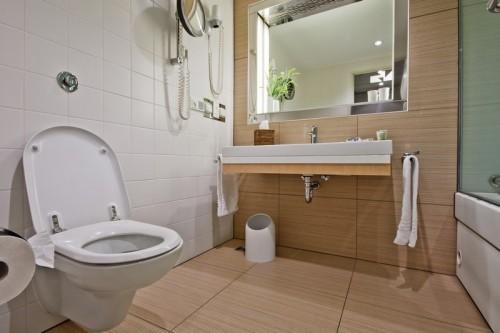 Dostatek prostoru k koupelně je důležitý, zdroj: shutterstock.com