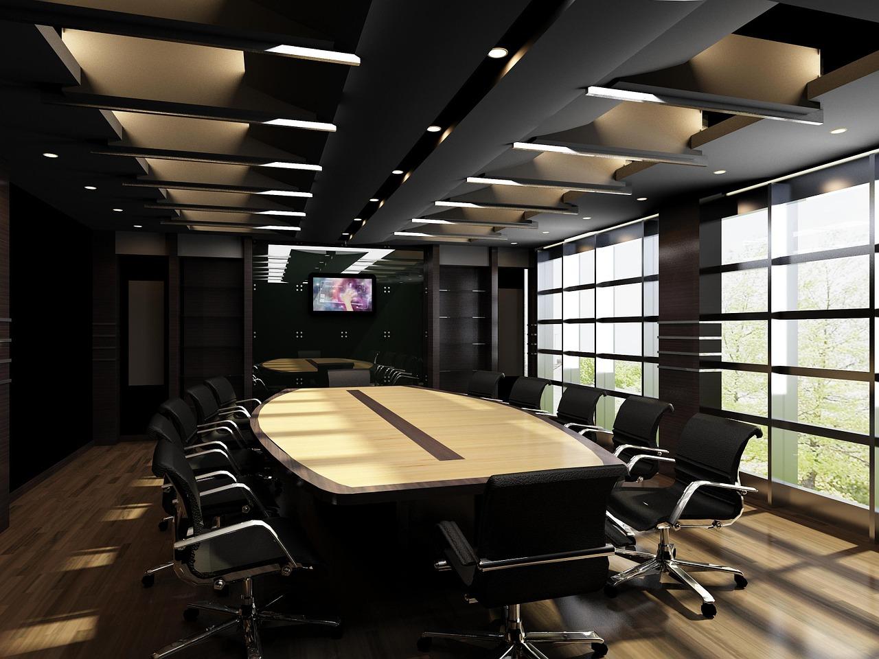 zařízené kanceláře