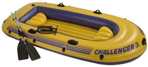 Nafukovací člun Challenger 3 1 760 Kč, zdroj: bazenyshop.cz