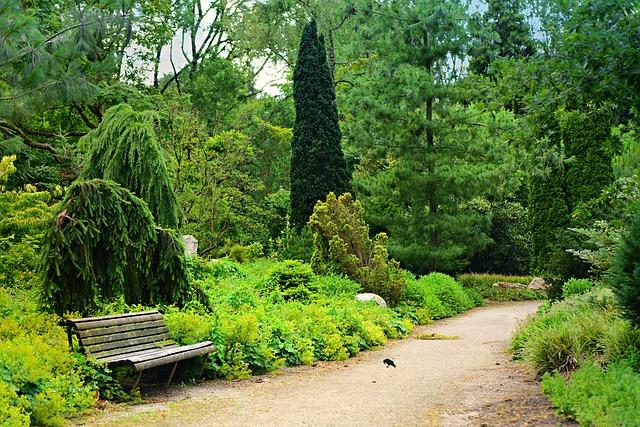 okrasné zahrady
