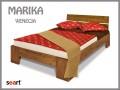 Manželská postel vyrobená z borovice, zdroj: seart.cz