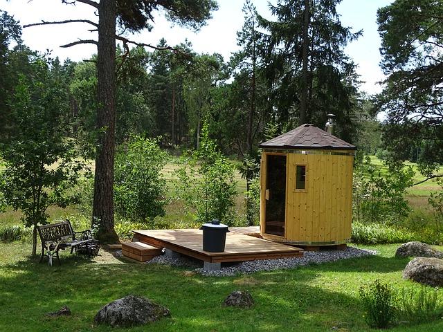 Sauna venku