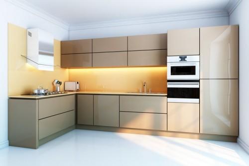 Žlutý obklad do kuchyně, zdroj: shutterstock.com